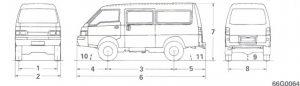 Blueprint Mitsubishi L300 4WD LWB