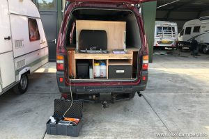 Gas safety check in grogress