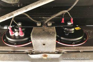 Hella Supertone horn kit installed