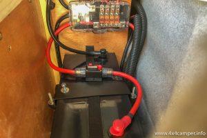 Rear fuse box